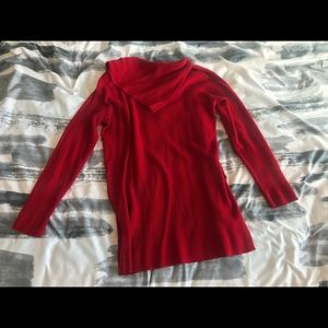 Vince camuto red sweater